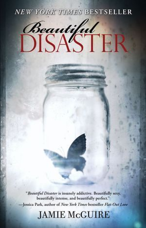 Portada de Beautiful disaster libro