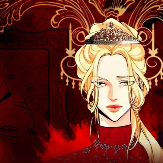 Portada del webtoon The Remarried Empress